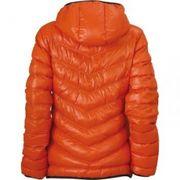 Veste duvet à capuche - doudoune anorak FEMME - JN1059 - orange