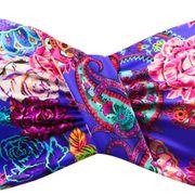 Maillot de bain 2 Pièces Lolita Angels Bandeau Rio Vogue Paisley Bleu