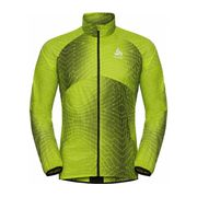Odlo - Omnius Hommes veste de course (vert)