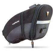 PANIER VELO - SACOCHE VELO TOPEAK Sacoche de selle Aero Wedge Pack Large - Extensible - Noir - 1,97 L