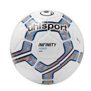 BALLON DE FOOTBALL  Ballon de football Infinity Team - Blanc et bleu - Taille 5