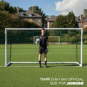 But de foot pliable Quickplay Match Fold 3,6m x 1,83m