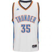 OKC Thunder K. Durant Homme Maillot Swingman Basketball Blanc Adidas