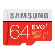 Cartes Micro SD EVO Plus 64 Go