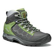 Chaussures de marche Asolo Falcon GV GTX gris vert femme
