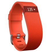 Bracelet connecté Fitbit Charge HR Orange taille S