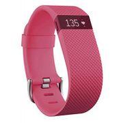 Bracelet connecté Fitbit Charge HR Rose taille L