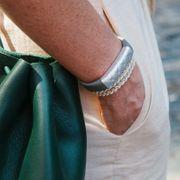 Bracelet intelligent Argent
