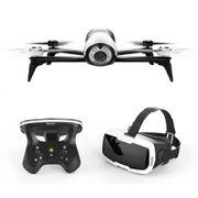 Drone Caméra Intégrée et lunettes FPV Rouge