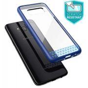 Galaxy S8 Coque anti-derapante Bleu