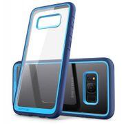 Galaxy S8 Plus Coque Anti-chocs Premium Bleu