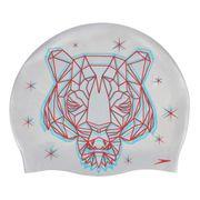 Bonnet de natation Speedo Flipturns Reversible blanc