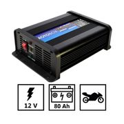 Chargeur de batterie 12V Motos Scooters Batteries jusuq'à 4AH AWELCO