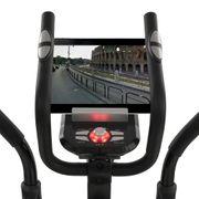vidaXL Vélo elliptique programmable XL Masse rotative 18 kg