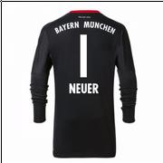 2017-2018 Bayern Munich Domicile Adidas Goalkeeper Maillot (Kids)