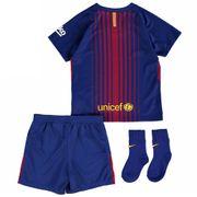 2017-2018 Barcelona Domicile Nike Baby Kit