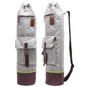 Sac de yoga Sharmila fermeture velcro + 2 poches, pour des grands tapis 66 x 200 x 0,6 cm