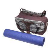 Sac yoga Vimalaa MULTI FONTIONNEL 100% coton + 2 poches pour tapis XL