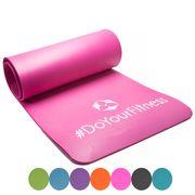 Matelas de fitness Yogini pilates / yoga / antidérapant / 183x61x1 cm