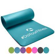 Matelas de fitness Sharma à idéal pour pilates, yoga, fitness / 183 x 61 x 0,8 cm