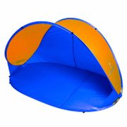 Abri de plage / tente de plage / UV 30+ / 220x120x100cm avec sac de transport