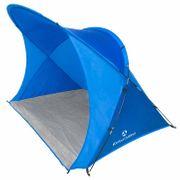 Coquille de plage XXL / UV 30+ / 200x150x130cm avec sac de transport