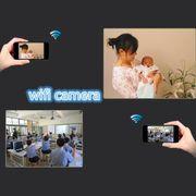 Caméra de sport-BV01 Full HD 1296P Wifi Infrarouge Stylo Caméra Vidéo Réunion de l'Enregistreur Vocal écran LCD de 1,5 pouce Mini DV avec Clip,