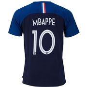 T-shirt FFF - Kylian MBAPPE - Collection officielle Equipe de France de Football - Taille enfant garçon
