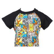 Tee-shirt anti-uv Comics nr mc anti uv jr