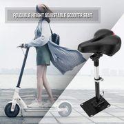 Siège Pliable Et Ajustable Pour Trottinette Electrique Compatible Xiaomi Mi M365