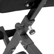 Gorilla Sports - Gyronetics E-Series Appareil pour le dos hyper extension incliné GN010