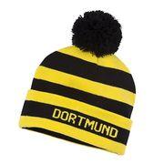 2015-2016 Borussia Dortmund Puma Bobble Hat (Black-Yellow)
