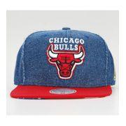 Casquette Chicago Bulls Mitchell & Ness Denim USA