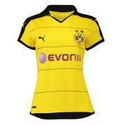 2015-2016 Borussia Dortmund Home Ladies Puma Shirt