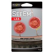 Nite Ize See Em Led Mini Spoke Light 2pk.