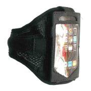 Brassard de Sport Noir pour mobiles et smartphones