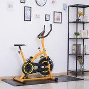 Tapis de protection Fitness grand confort dim. 170L x 75l x 0,4H cm PVC noir
