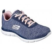 Skechers - Flex Appeal 2.0 Femmes Chaussure de fitness (bleu)