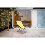 O'Colors - Fauteuil loggia 4 positions Vert - Structure Pliable et Très Confortable - Utilisation Durable par Tous les Temps - Dimensions : 94 x 62 x 102 cm