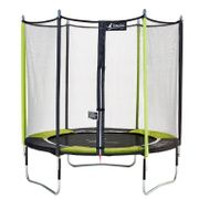 Kangui - Trampoline de jardin 244 cm + filet de sécurité JUMPI POP 250