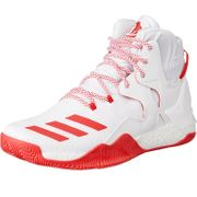 Adidas - Chaussure de Basketball adidas D-ROSE 7 Blanc/Rouge Pointure - 42
