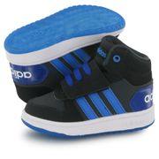 Adidas Neo Hoops Mid 2.0 noir, baskets mode enfant