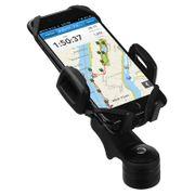 Support universel pour smartphones sur vélo - Fixation tige de guidon HR-imotion