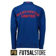 Veste de présentation Manchester United 2016-2017 adidas Couleur - Bleu, Taille - XS