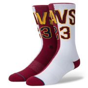 Chaussettes Stance NBA Legends Lebron James Split Jersey