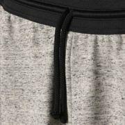 Pantalon 3/4 molleton gris clair