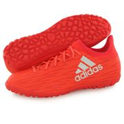 Adidas Performance X 16.3 Tf rouge, chaussures de football homme