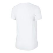 T-shirt Nike NK2 Running manches courtes blanc femme
