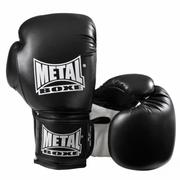 Gants de boxe entrainement SUP Noir Métal Boxe Taille - 8oz