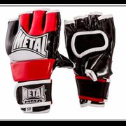 Gants de combat libre Metal Boxe New rouge noir blanc Taille - Junior